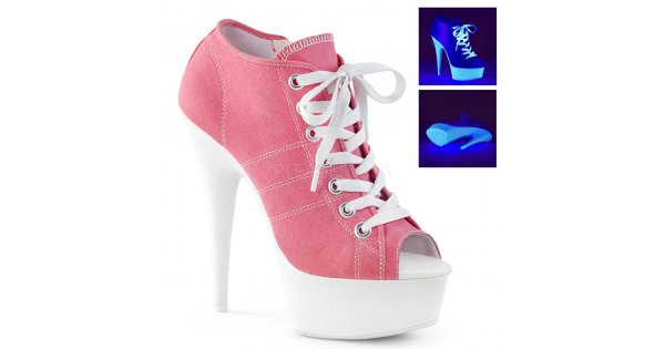 dámské růžové tenisky na platformě a podpatku Delight-600sk-01-pncanw - Velikost  38   SEXYBOTY.cz f9c60e4bbf