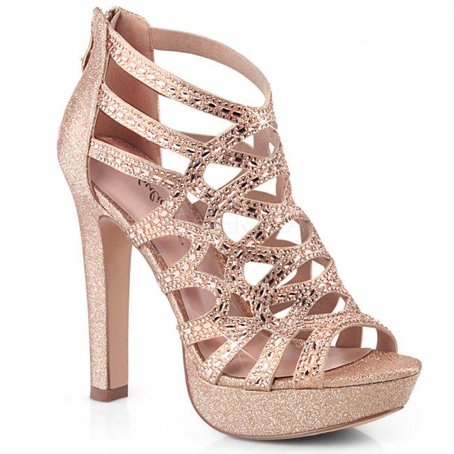 dámské kotníkové sandálky Selene-24-rogldfa - Velikost 35