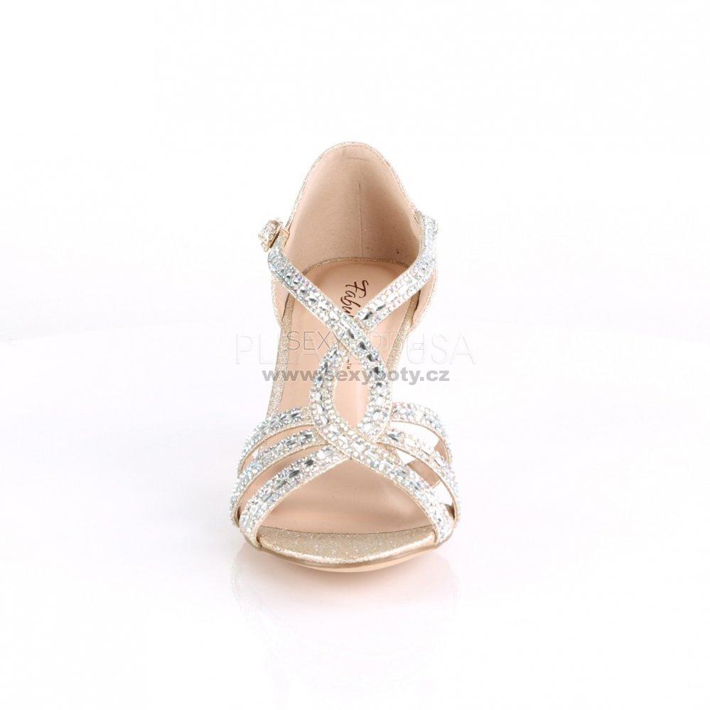 66dd1e56082 zlaté dámské společenské sandálky Missy-03-chafa - Velikost 39 ...