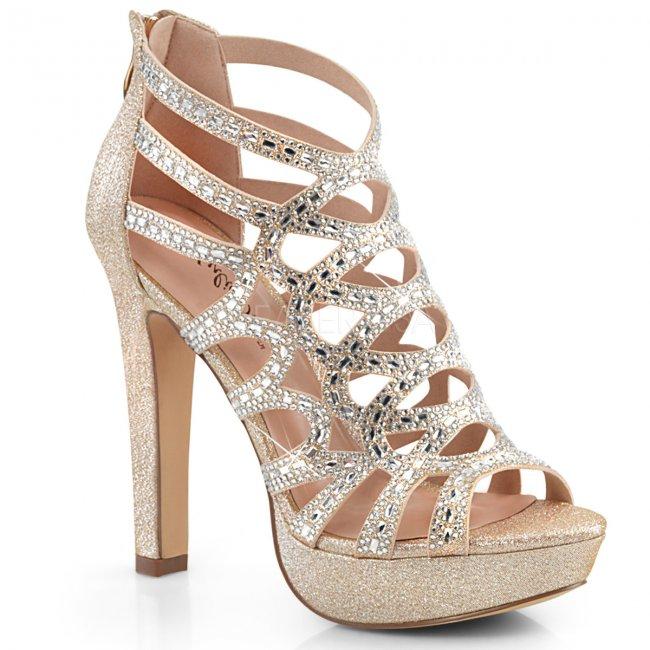 dámské kotníkové sandálky Selene-24-chafa - Velikost 41