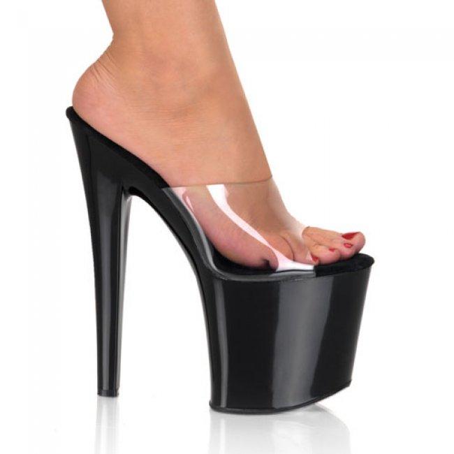 Taboo-701-cb boty na velmi vysokém podpatku a platformě - Velikost 40