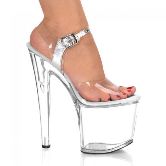 Taboo-708-c boty na velmi vysokém podpatku a platformě - Velikost 40