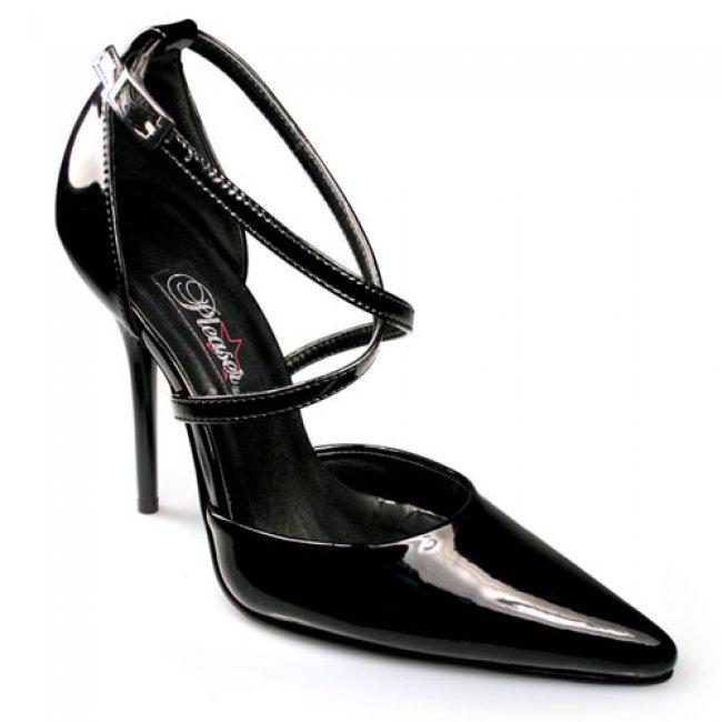 luxusní dámské lodičky Pleaser Milan-42Blk - Velikost 35