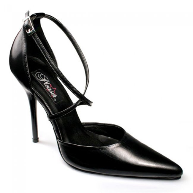 luxusní dámské lodičky Pleaser Milan-42BlkLe - Velikost 35