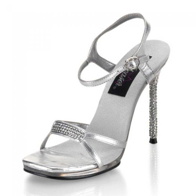 Monroe-11-srs sandálky na jehlovém podpatku - Velikost 41
