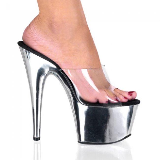 Adore-701-csch boty na vysokém podpatku a platformě - Velikost 35