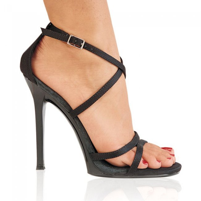 sandálky Pleaser na podpatku Gala-41-bsat - Velikost 35