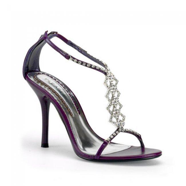 fialové luxusní sandálky Enchant-18pur - Velikost 37