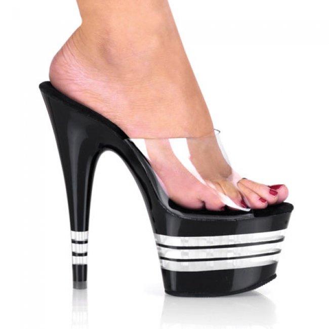 Adore-701ln-cb boty na vysokém podpatku a platformě - Velikost 42