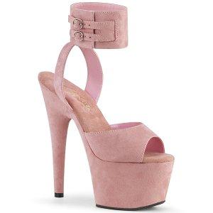 vysoké růžové dámské sandále Adore-791fs-bpfs