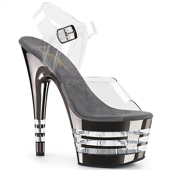 vysoké dámské sandály Adore-708chln-cpwch - Velikost 36