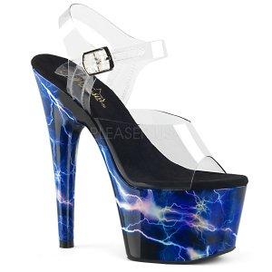 vysoké sandály s hologramy Adore-708storm-cbluhg