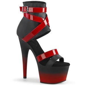 vysoké páskové sandály Adore-700-15-bpurpt
