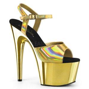 dámské zlaté sandály na vysoké platformě Adore-709hgch-ghggch