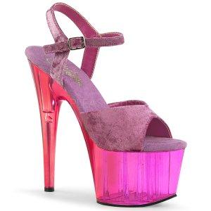 fialové dámské sandály na platformě Adore-709mct-ppvel