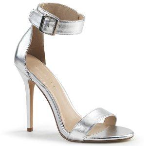 stříbrné dámské sandálky Amuse-10-smpu
