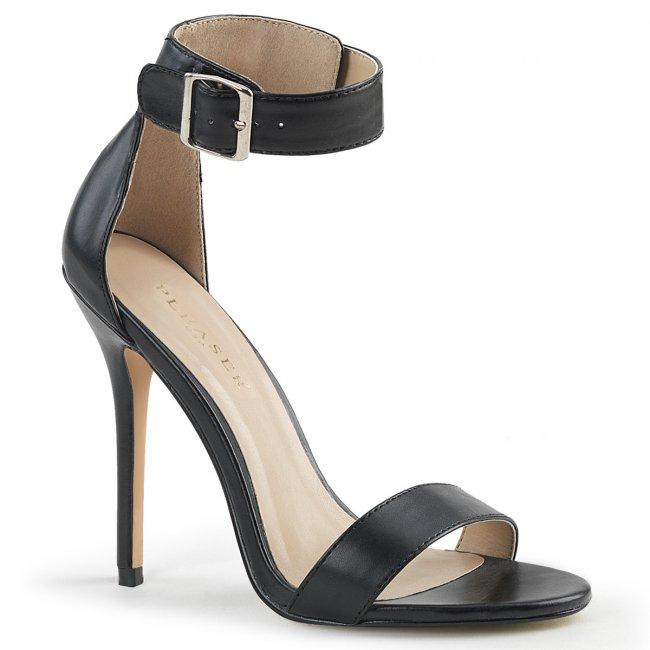 černé dámské sandálky Amuse-10-bpu - Velikost 42