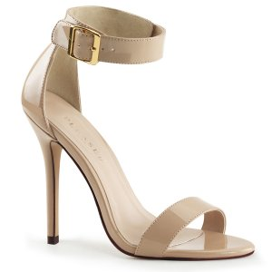 béžové dámské sandálky Amuse-10-cr