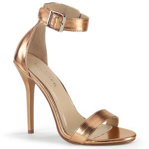 zlaté dámské sandálky Amuse-10-rogldmpu