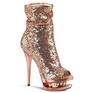 luxusní dámské kotníkové kozačky Blondie-r-1008-rogdsqrgch