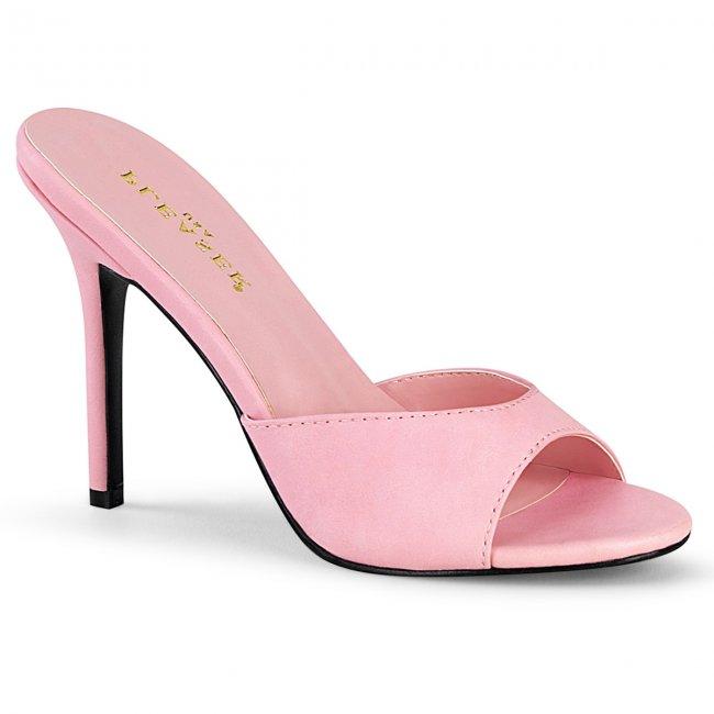 růžové dámské pantoflíčky Classique-01-bppu - Velikost 45