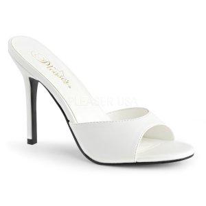 bílé dámské pantoflíčky Classique-01-wpu