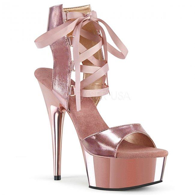 dámské šněrovací sandály Delight-600-14-rogldpu - Velikost 38