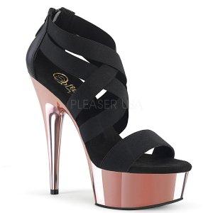 boty sandály s elastickými pásky Delight-669-belspurogch