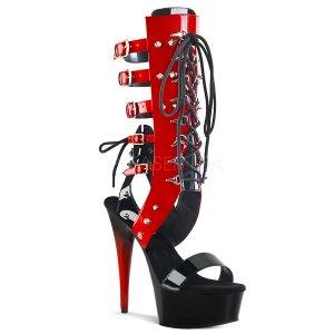 dámské šněrovací sandály Delight-600-38-br
