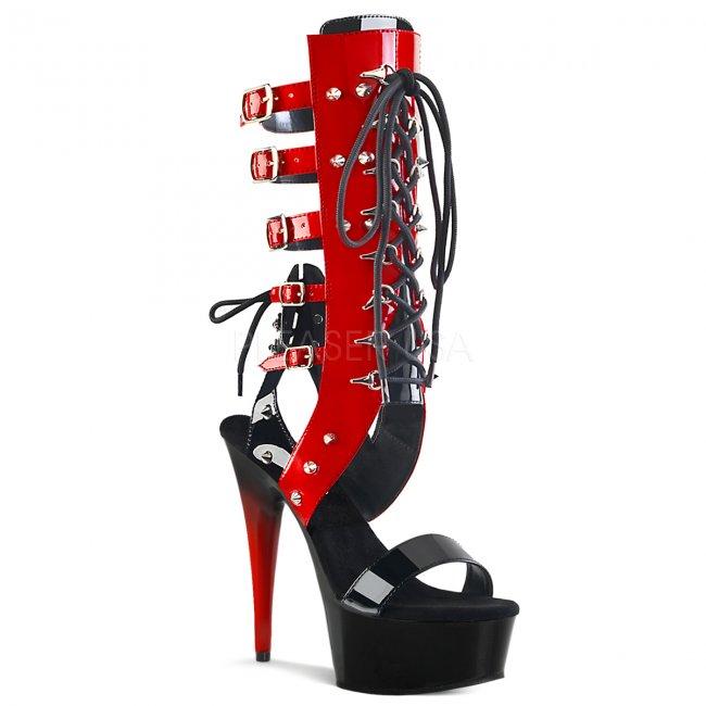 dámské šněrovací sandály Delight-600-38-br - Velikost 36