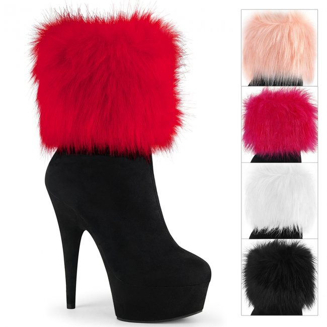 černé dámské luxusní kozačky Delight-1000-bfs - Velikost 36