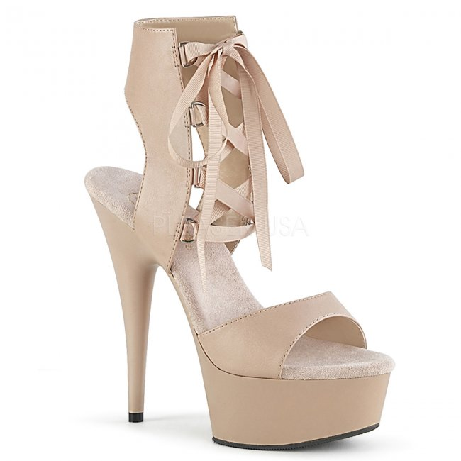 dámské šněrovací sandály Delight-600-14-ndpu - Velikost 36