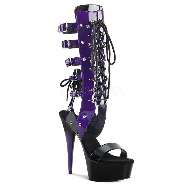 dámské šněrovací sandály Delight-600-38-bpp - Velikost 36