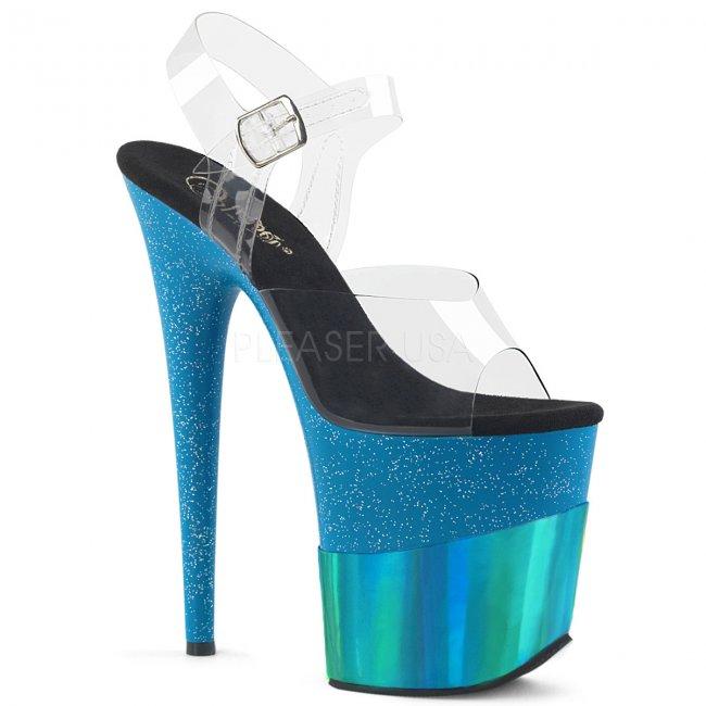 extra vysoké dámské sandály Flamingo-808-2hgm-cteghg - Velikost 37
