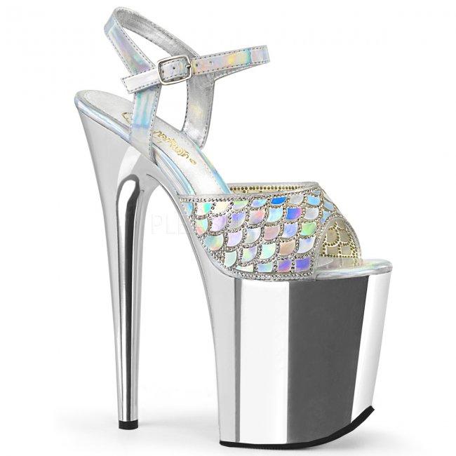 boty na extra vysokém podpatku Flamingo-809mmrs-shgsch - Velikost 40