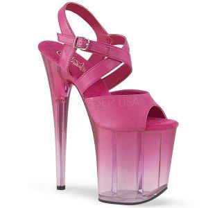 páskové boty na extra vysokém podpatku Flamingo-822t-fspu