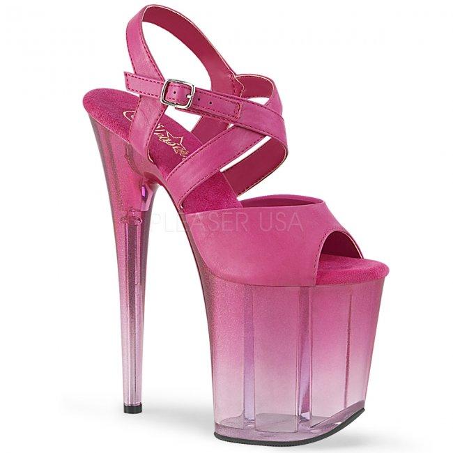 páskové boty na extra vysokém podpatku Flamingo-822t-fspu - Velikost 36