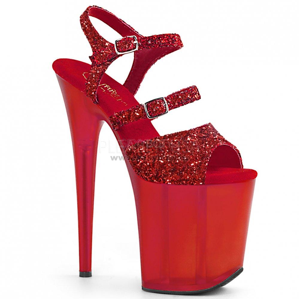 c39da5549a2 červené boty na extra vysokém podpatku Flamingo-874-rgfror - Velikost 37