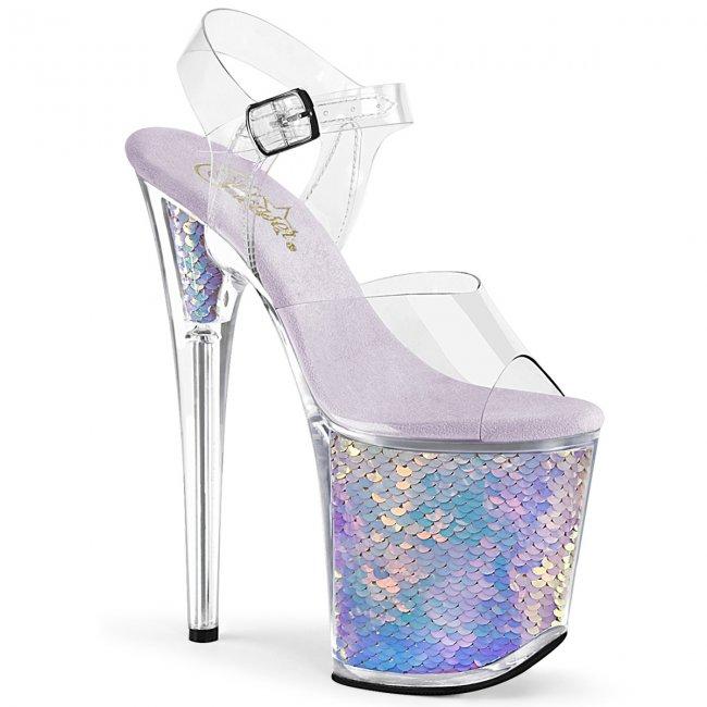 extra vysoké dámské boty na platformě Flamingo-808mc-clvhg - Velikost 36