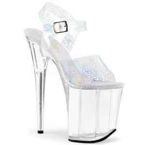 extra vysoké dámské boty s hologramy Flamingo-808n-ck-shgtpuc
