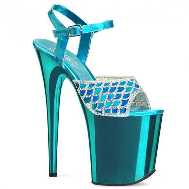 boty na extra vysokém podpatku Flamingo-809mmrs-tehg - Velikost 38