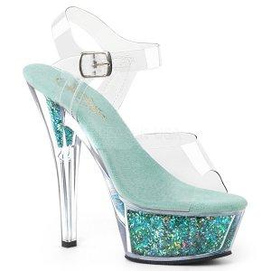 dámské sandály s glitry Kiss-208gf-cteg