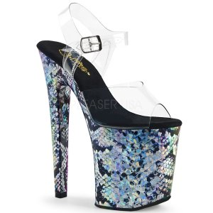 extra vysoké sandále s hologramy Xtreme-808ssp-cshg